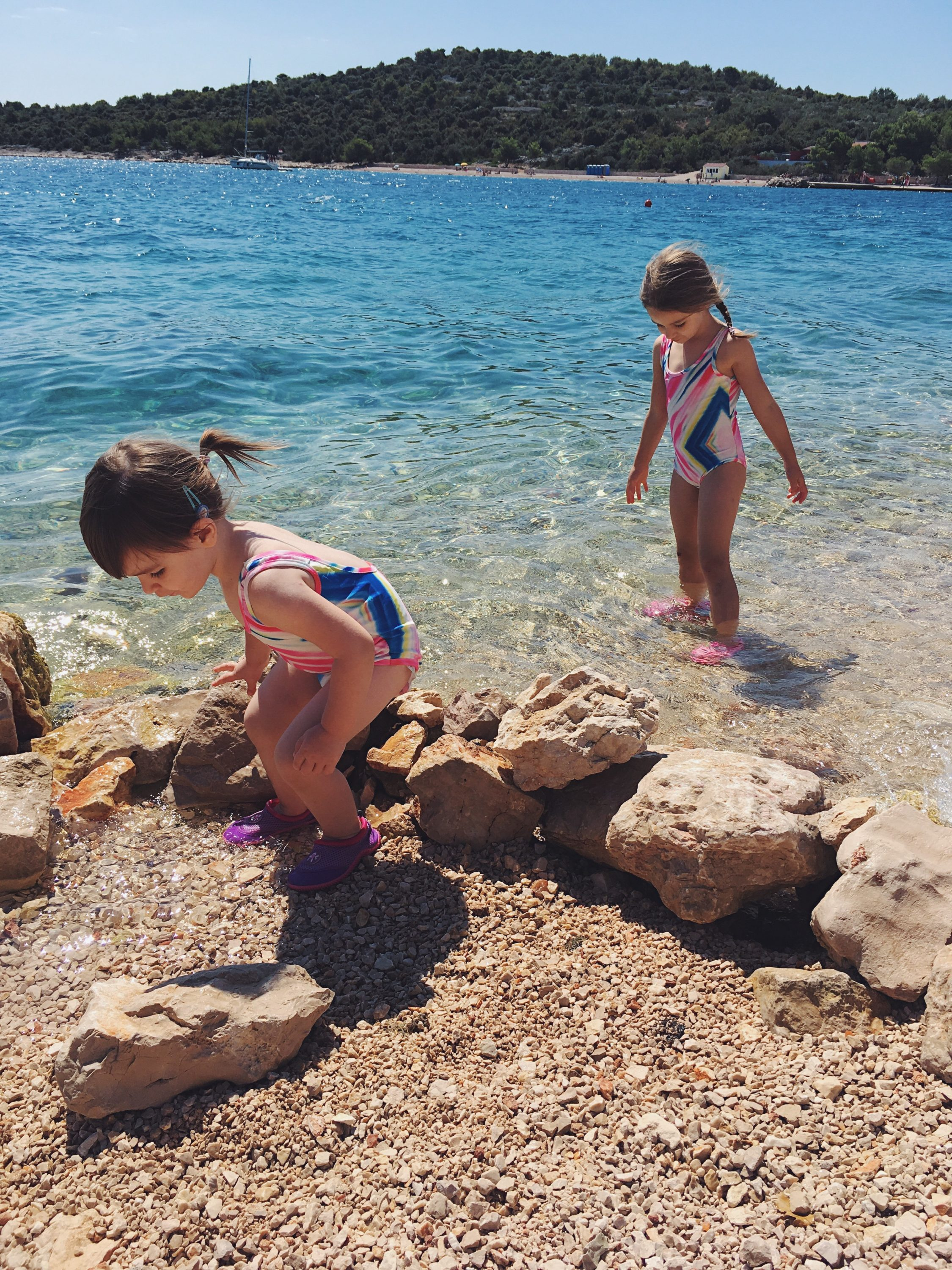 Murter Island Croatia full of life free spirit nature mom blogger jezera tisno happiness mama blogerica traveling kids lifestyle sea adriatic jadransko more more less ines blogger travel boat summer