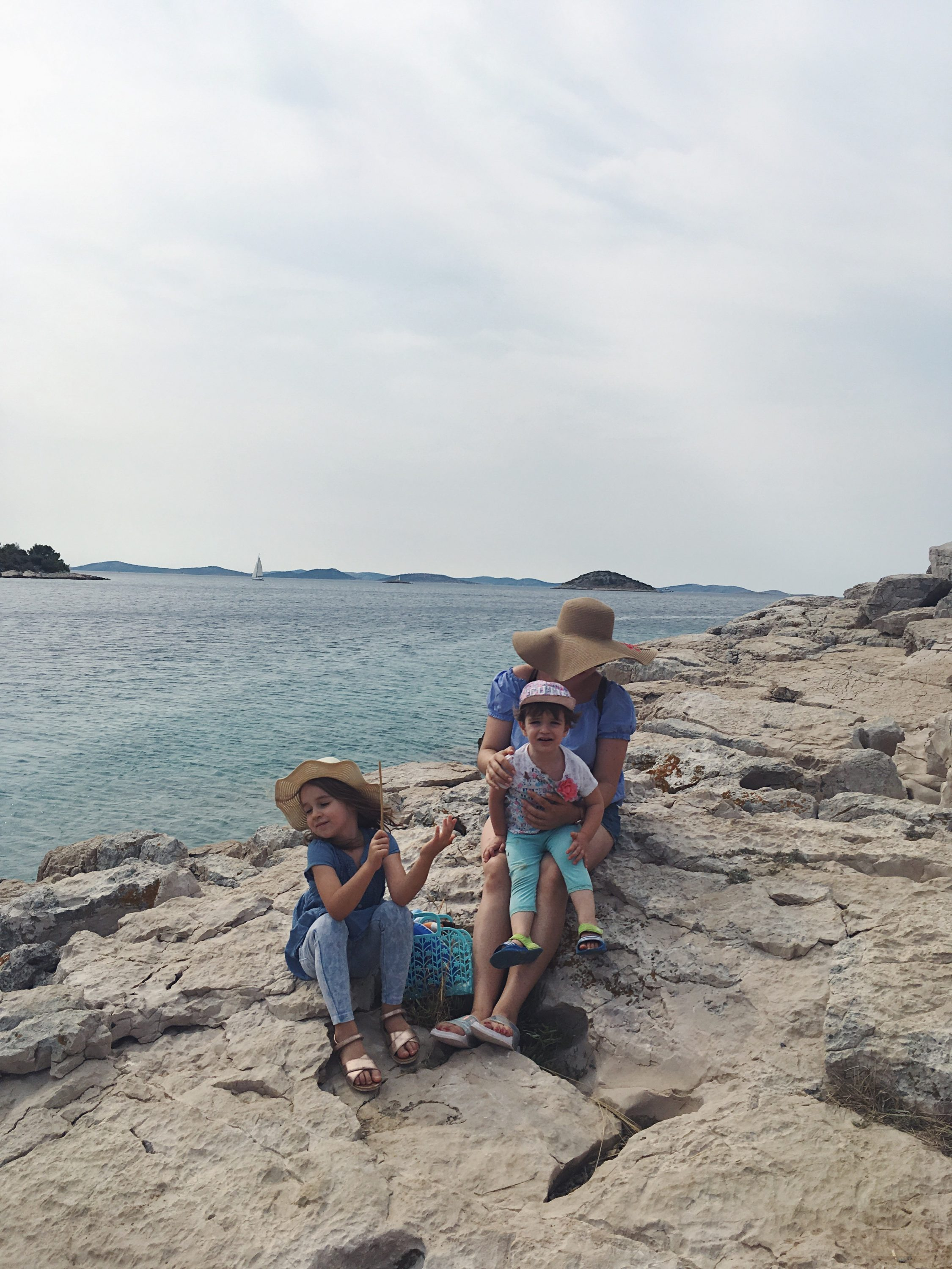 Murter Island Croatia full of life free spirit nature mom blogger jezera tisno happiness mama blogerica traveling kids lifestyle sea adriatic jadransko more more less ines blogger travel boat summer Murtar Kornati