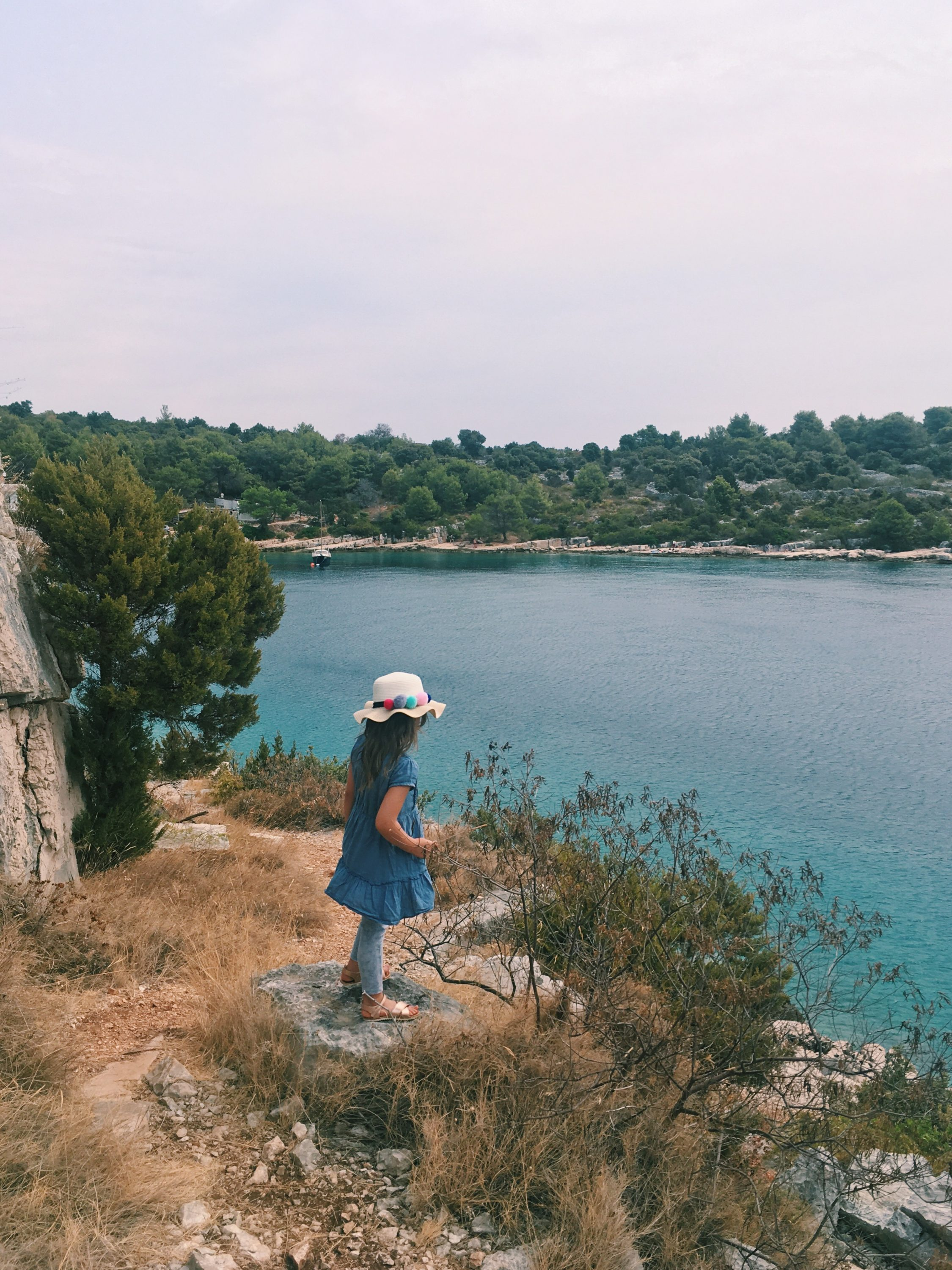 Murter Island Croatia full of life free spirit nature mom blogger jezera tisno happiness adventure mama blogerica traveling kids lifestyle sea adriatic jadransko more more less ines blogger travel boat summer murtar