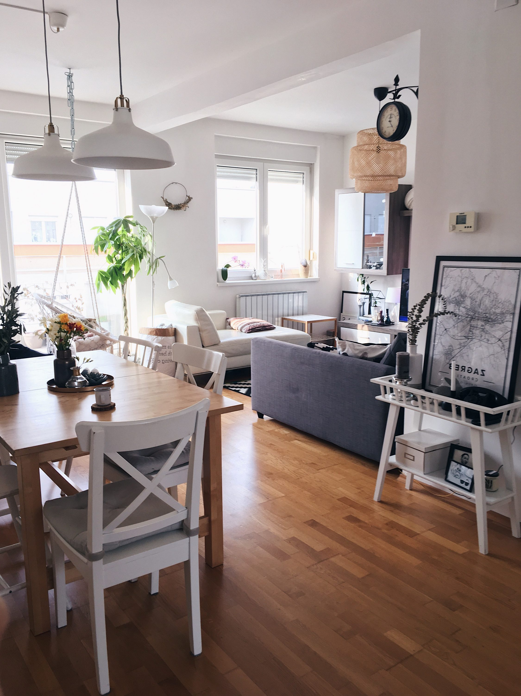 Ideja dnevni boravak, uređenje interijera, dizajn interijera stana