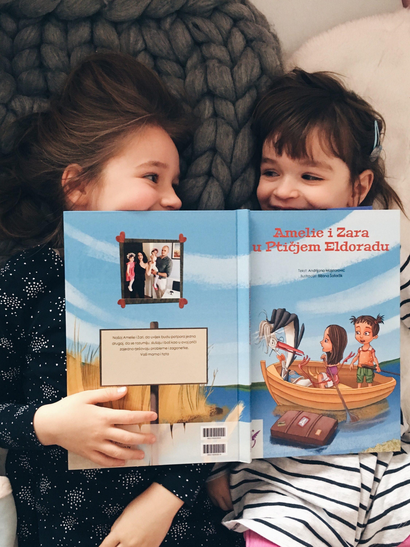 Amelie i Zara čitaju priču za djecu Ptičji Eldorado