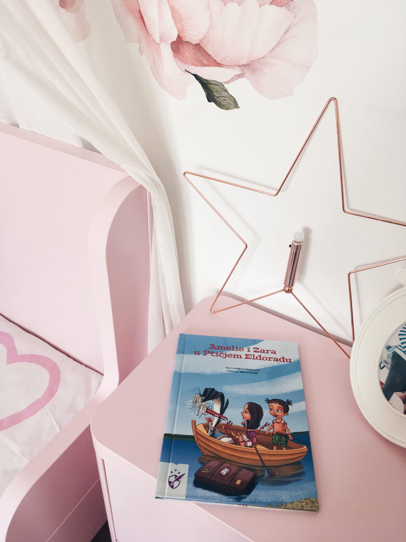 Ikea zvijezda, priča za djecu Ptičji Eldorado. dječji rozi krevet Ikea