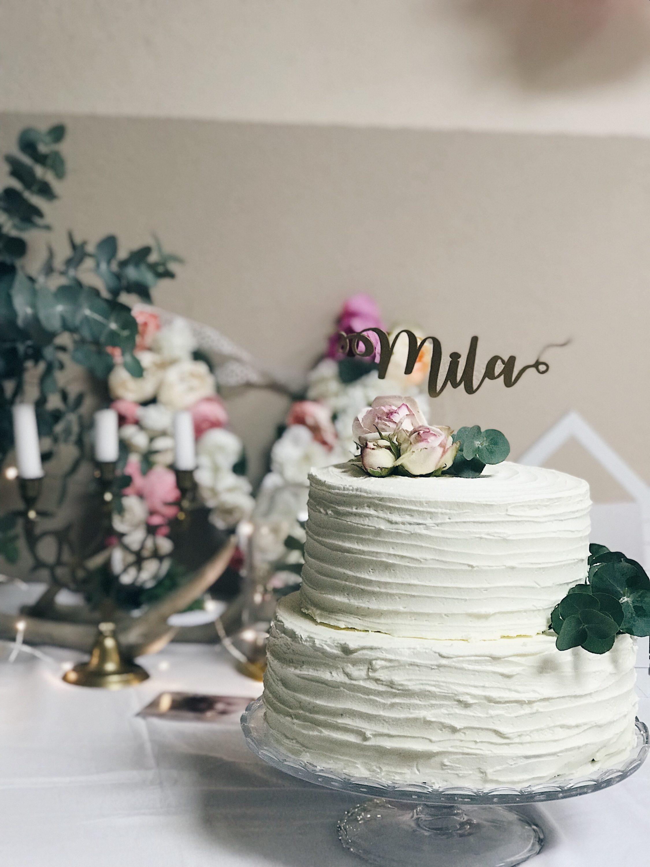 torta za krštenje sa imenom