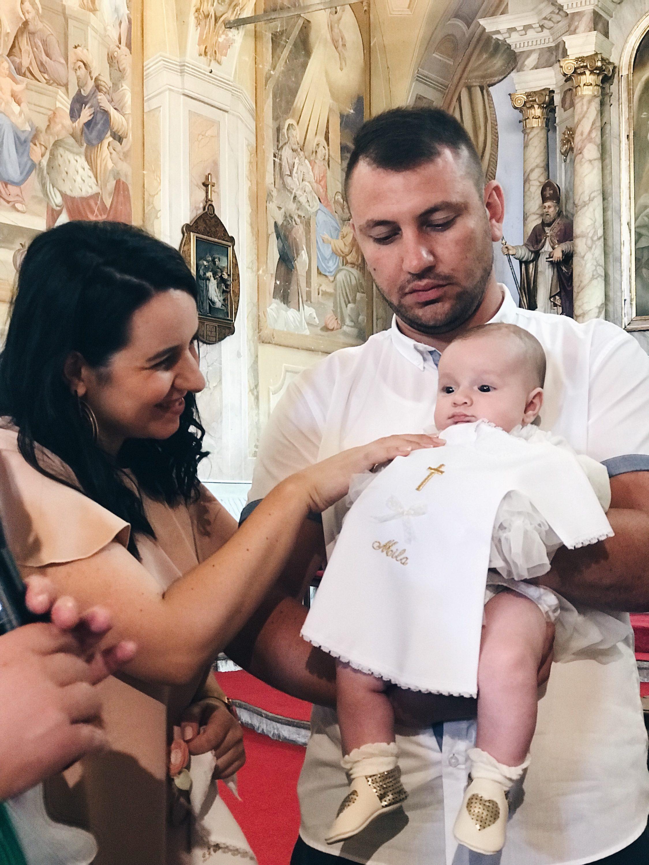 krštenje u crkvi u Klanjcu