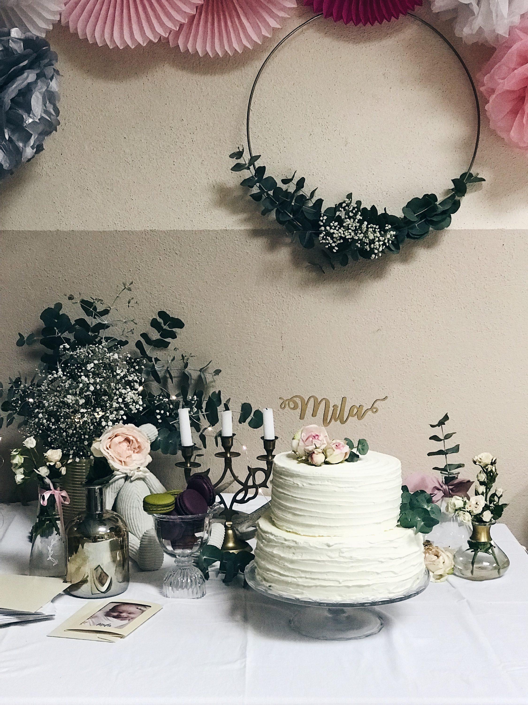 dekoracija eukaliptusom