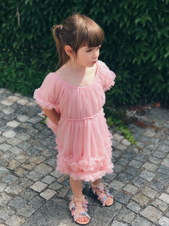 ružičasta haljina za djevojčice