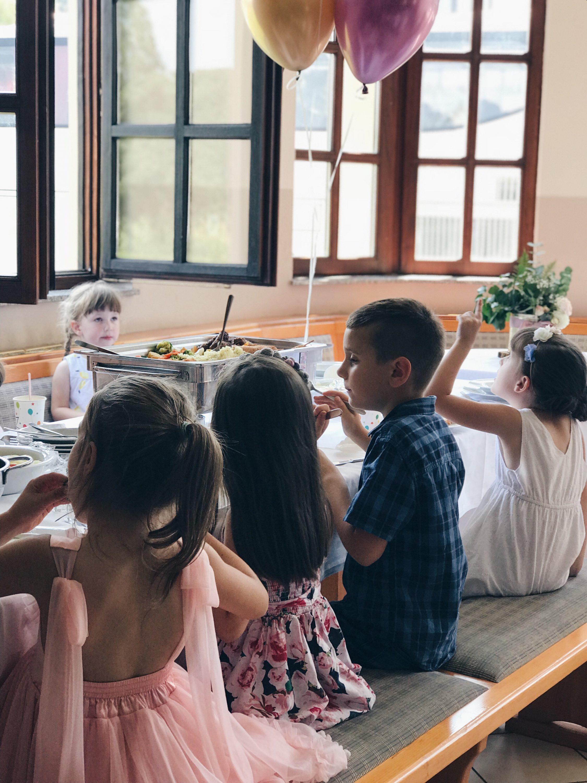 dječji stol na proslavi
