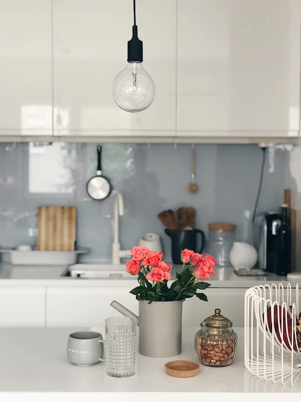 ruže u kuhinji, roses in the kitchen