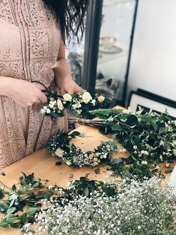 priprema cvjetne dekoracije