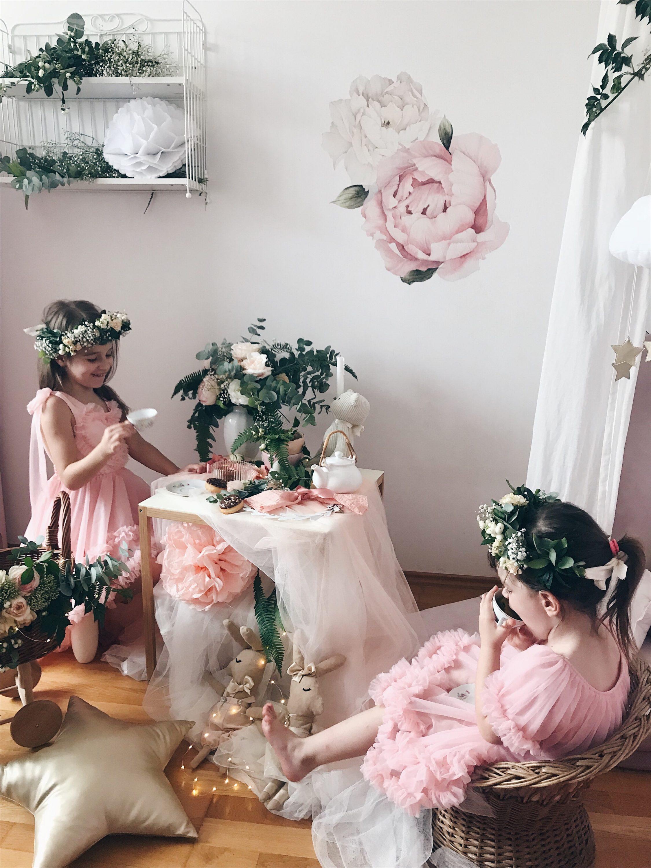 dječja igra čajanka za djevojčice