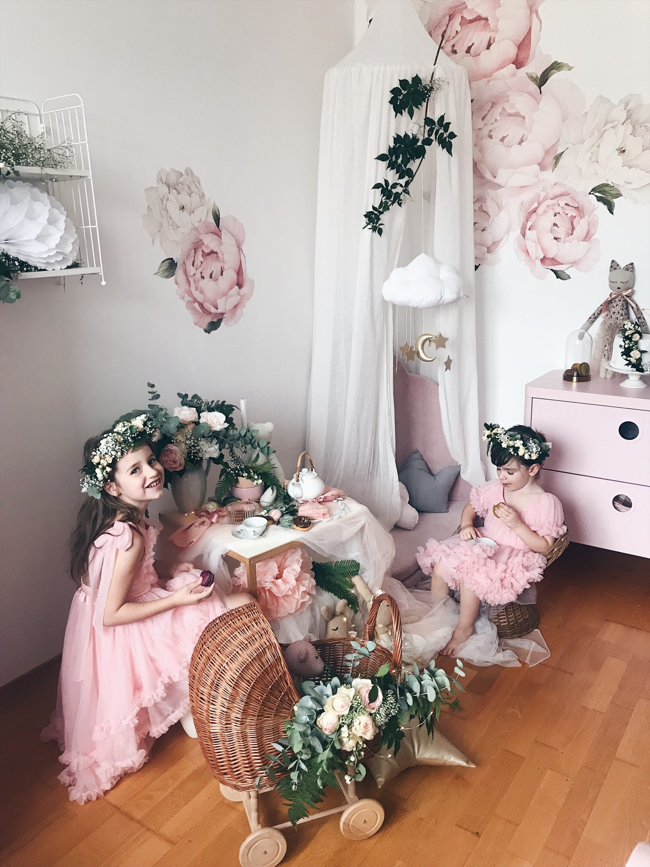 čajanka za djevojčice
