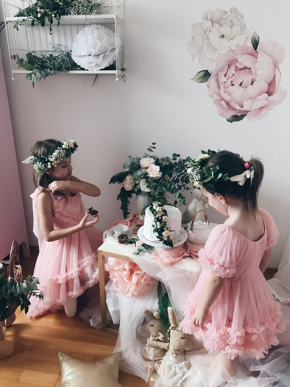 čajanka igra djevojčica