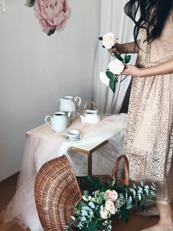 čajanka za djevojčice priprema