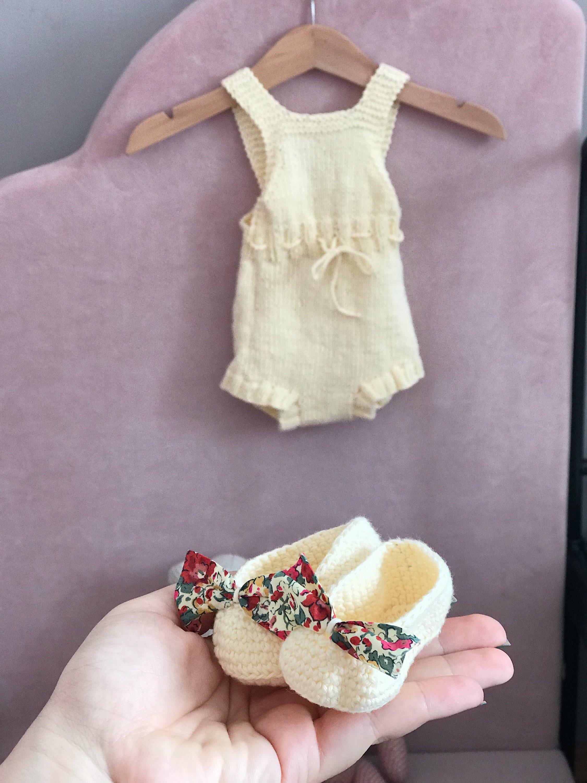 Marie Martha papuče i haljina za bebu