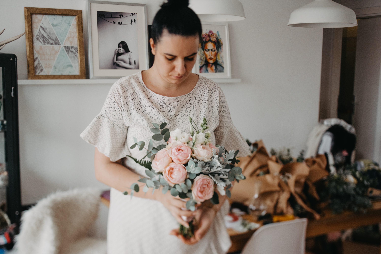 more less ines svadbeni buket