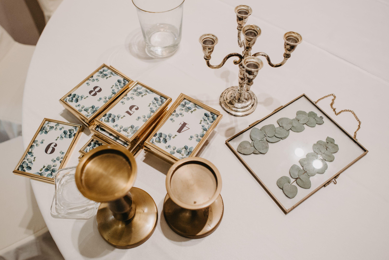 eukaliptus brojevi za stolove vjenčanje