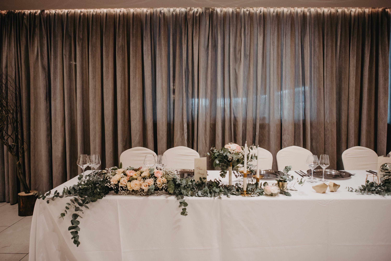 eukaliptus dekoracija svadbenog stola