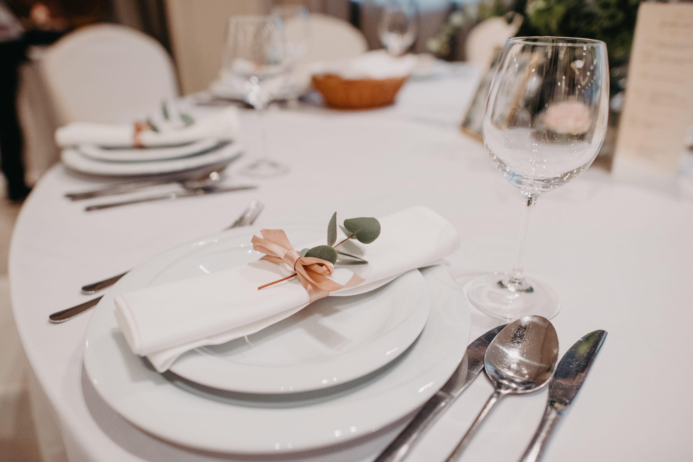 ubrus eukaliptus dekoracija za svadbu