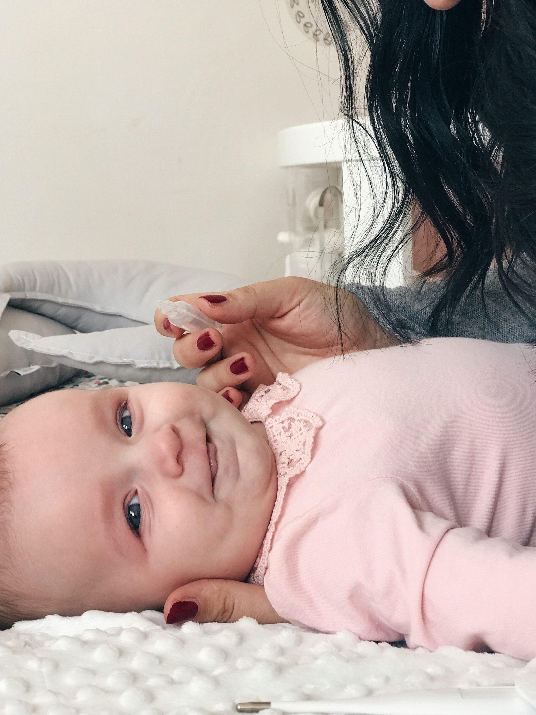 čišćenje nosa sa Nivea Baby fiziološka otopina