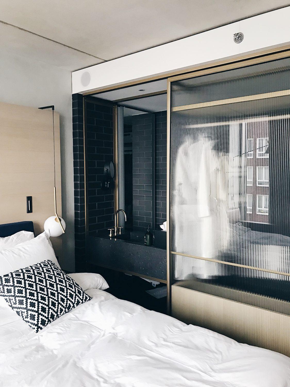 hotel qo amsterdam soba i wc